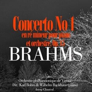 Orchestre philharmonique de Vienne, Karl Bohm, Wilhelm Backhaus Foto artis