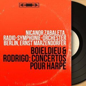 Nicanor Zabaleta, Radio-Symphonie-Orchester Berlin, Ernst Märzendorfer Foto artis