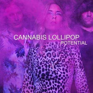 Cannabis Lollipop Foto artis