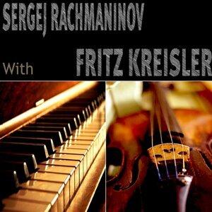 Sergei Rachmaninoff, Fritz Kreisler Foto artis