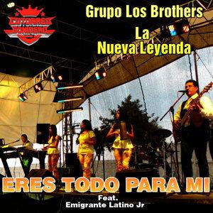 Grupo Los Brothers La Nueva Leyenda Feat. Emigrante Latino Jr Foto artis
