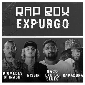 Diomedes Chinaski, Nissin, Baco Exu do Blues & Rapadura Foto artis