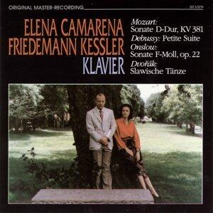 Elena Camarena, Friedemann Kessler Foto artis