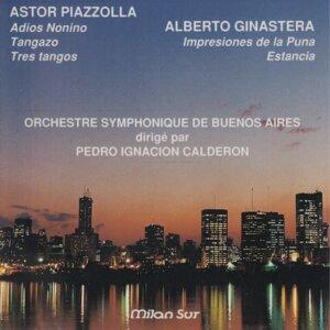 Buenos Aires Symphonic Orquestra, Pedro Ignacion Calderon Foto artis