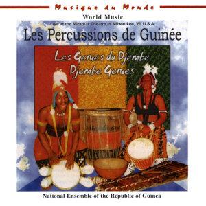 Les Percussions de Guinee Foto artis
