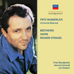 Fritz Wunderlich, Heinrich Schmidt, Ludwig Beinl, Walter Weller, Jan Koetsier, Symphonieorchester des Bayerischen Rundfunks Foto artis