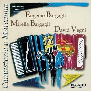 Eugenio Bargagli, Mirella Bargagli, David Vegni Foto artis