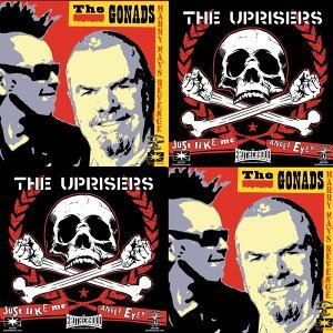The Uprisers, The Gonads Foto artis