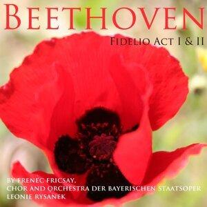 Orchestra Der Bayerischen Staatsoper, Ferenc Fricsay, Friedrich Lenz, Irmgar Seefried, Gottlob Frick Foto artis