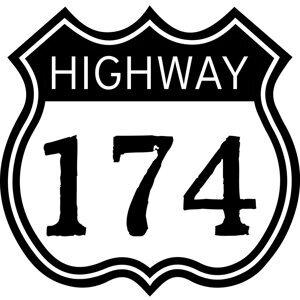 Highway 174 Foto artis