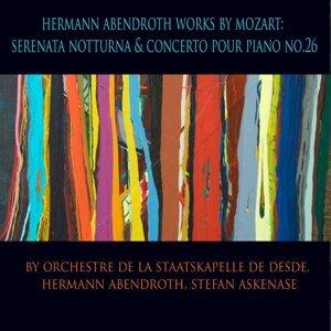 Sächsische Staatskapelle Dresden, Hermann Abendroth, Stefan Askenase Foto artis