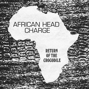 African Head Charge Foto artis