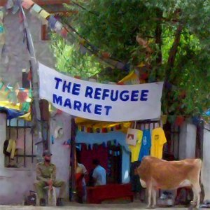 The Refugee Market Foto artis