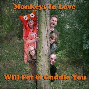 Monkeys in Love Foto artis