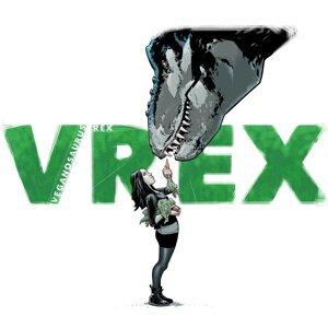 Veganosaurus Rex Foto artis