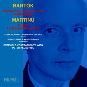 Ensemble Kontrapunkte Wien, Rainer Keuschnig, Winfried Van Den Hove, Gerald Fromme & Walter Seitinger Foto artis