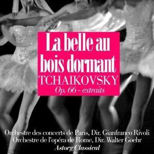 Orchestre de l'opéra de Rome, Walter Goehr, Orchestre des concerts de Paris, Gianfranco Rivoli Foto artis