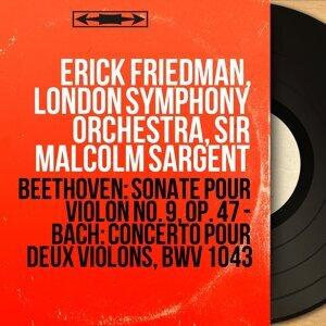 Erick Friedman, London Symphony Orchestra, Sir Malcolm Sargent Foto artis