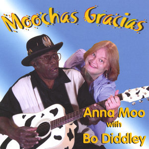 Anna Moo with Bo Diddley Foto artis