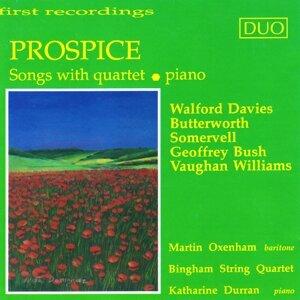 Martin Oxenham, Bingham String Quartet, Katharine Durran Foto artis