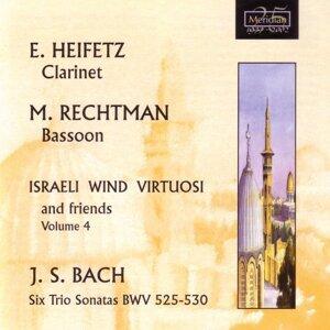 Israeli Wind Virtuosi, Eli Heifetz, Mordechai Rechtman Foto artis