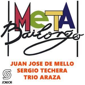 Juan José De Mello, Trío Azará, Sergio Techera Foto artis