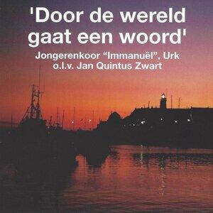 """Jongerenkoor, """"Immanuel"""", Urk, Jan Quintus Zwart Foto artis"""