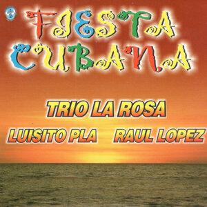 Trio La Rosa, Luisito Pla, Raul Lopez Foto artis