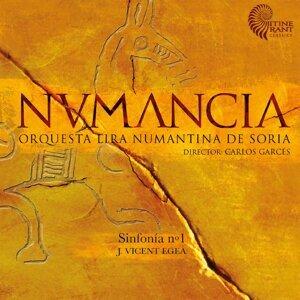Orquesta Lira Numantina, Carlos Garcés Foto artis