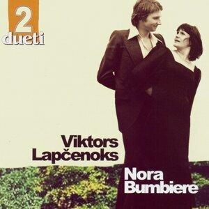 Nora Bumbiere, Viktors Lapčenoks Foto artis