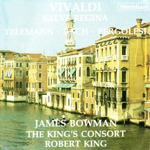 James Bowman, The King's Consort, Robert King Foto artis