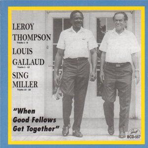 """Leroy Thompson, Louis Gallaud, James """"Sing"""" Miller Foto artis"""