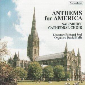 Salisbury Cathedral Choir, David Halls Foto artis