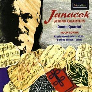 Dante Quartet, Krysia Osostowicz, Ferenc Rados Foto artis