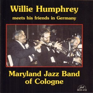Willie Humphrey, Maryland Jazz Band of Cologne Foto artis