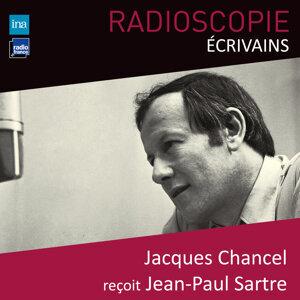Jacques Chancel, Jean-Paul Sartre Foto artis