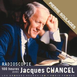 Jacques Chancel, Pierre Soulages Foto artis