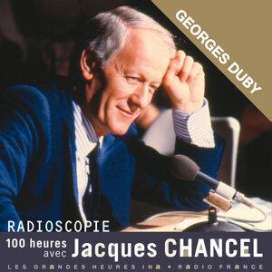 Jacques Chancel, Georges Duby Foto artis
