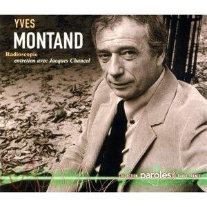 Jacques Chancel, Yves Montand Foto artis