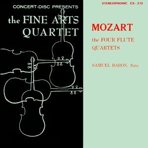 Members of the Fine Arts Quartet & Samuel Baron Foto artis