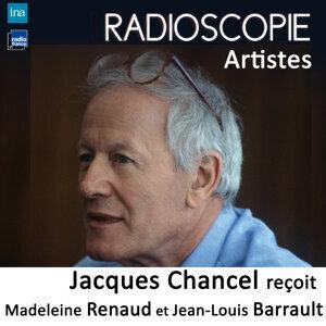 Jean-Louis Barrault, Madeleine Renaud, Jacques Chancel Foto artis