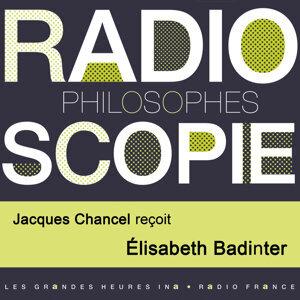 Elisabeth Badinter, Jacques Chancel Foto artis