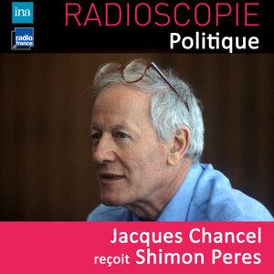 Shimon Peres, Jacques Chancel Foto artis