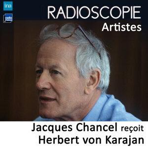 Herbert von Karajan, Jacques Chancel Foto artis
