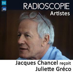 Juliette Gréco, Jacques Chancel Foto artis
