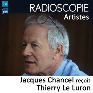 Thierry Le Luron, Jacques Chancel Foto artis