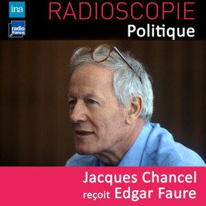 Edgar Faure, Jacques Chancel Foto artis
