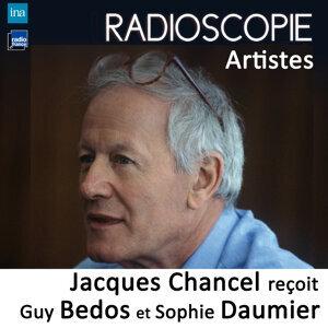 Sophie Daumier, Guy Bedos, Jacques Chancel Foto artis