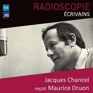 Jacques Chancel, Maurice Druon Foto artis
