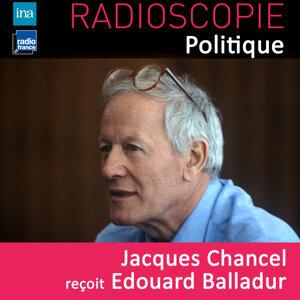 Edouard Balladur, Jacques Chancel Foto artis